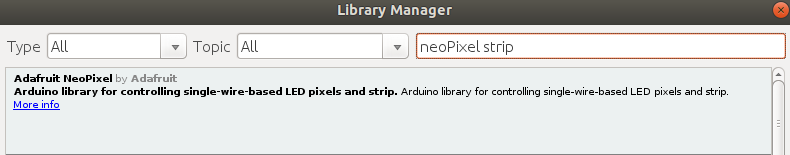 Der Library Manager.